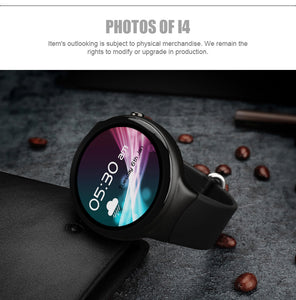 "Classic Round Smartwatch 1GB+16GB, 1.39"", 3G, WiFi, GPS, HeartRate Monitor, Bluetooth"