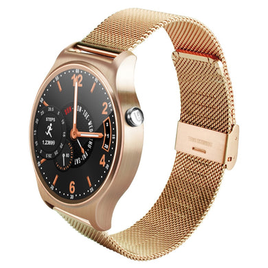 Betreasure Premium Smart Watch Round Screen, Heart Rate Monitor, Bluetooth
