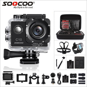 SOOCOO C10 Full-HD Sports Action Camera Wide Lens Waterproof