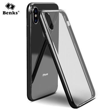 Benks Luxury Plating Case For iPhone X
