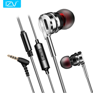 IZV GL5 3.5mm In Ear Silver Plated