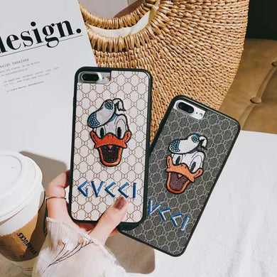 Luxury Gucci X Phone Case Cover