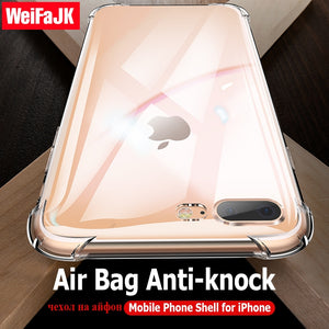 WeifaJK Clear Silicone Soft Case