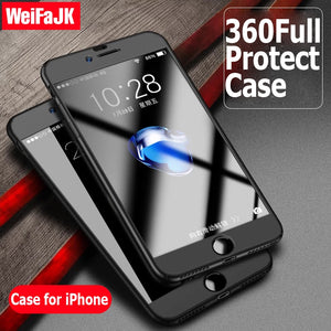WeiFaJK 360 Degree Full Cover Case