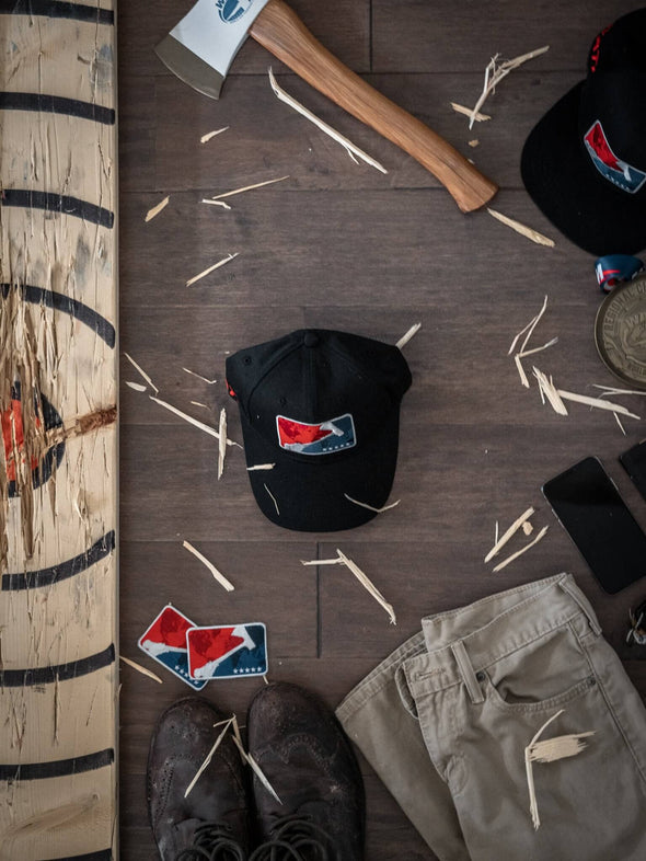 World Axe Throwing League Baseball Cap