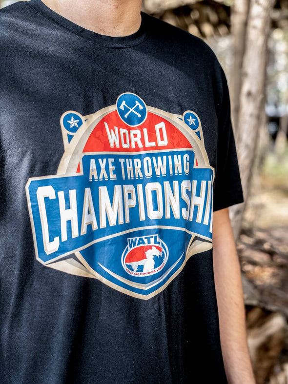 World Axe Throwing Championship T-Shirt Bust