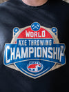 World Axe Throwing Championship T-Shirt Logo