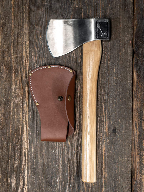 World Axe Throwing League Premium Leather Sheaths With Axe