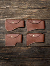 World Axe Throwing League Premium Leather Sheaths Flatlay