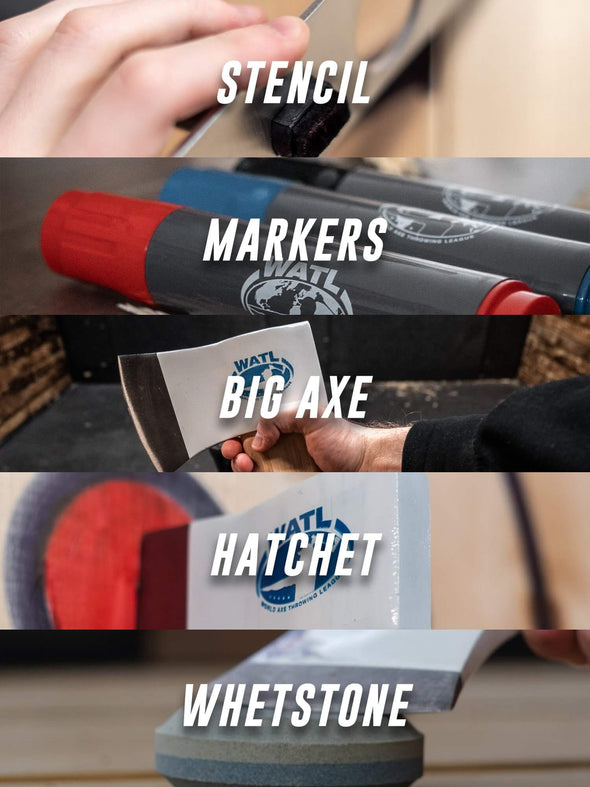 Axe Throwing Starter Kit