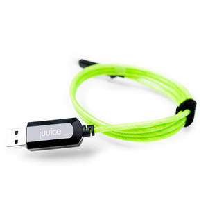 Flow Series - Green Light Up Fast Charging Cable for iPhone