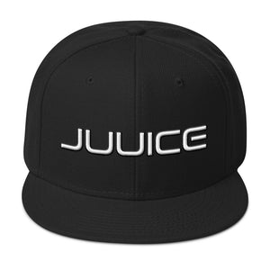 Juuice Puffy Icon Snapback Hat in Black