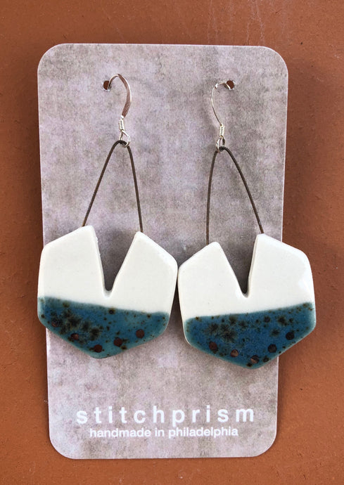 Porcelain Dangle Earrings