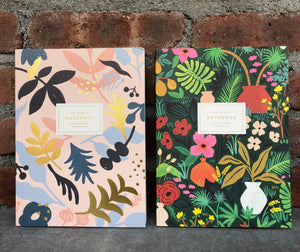 Rifle Press Floral Notebook