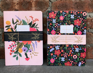 3 Floral Journal Set