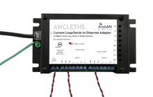 AWCLETHS Current Loop and Serial to IP Adapter