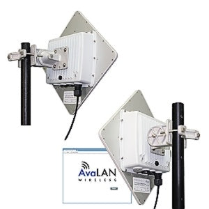 AW58100HTP-PAIR 5.8 GHz Outdoor 100 Mbps Wireless Ethernet Bridge