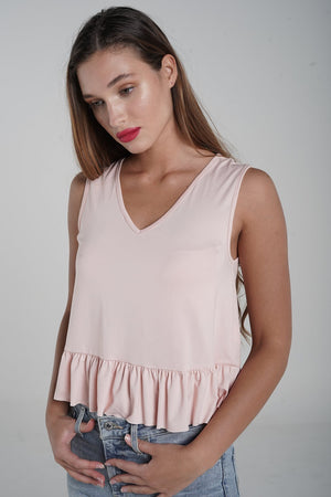 H apparel by Hispania Ropa Basic waisted smock top.