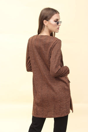 H apparel by Hispania Ropa Knitwear cardigan with pockets.