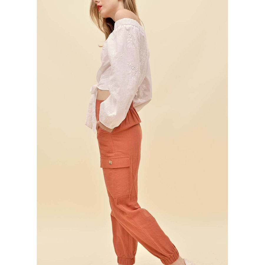 H apparel by Hispania Ropa Utility trouser