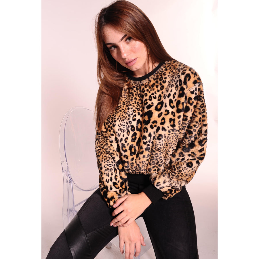 H Apparel Ropa Sueter animal print