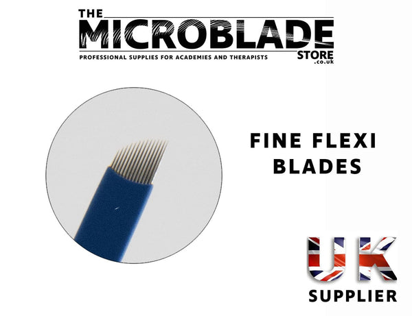 Professional Microblading - Fine Flexi Microblades - 0.18mm - The Microblade Store