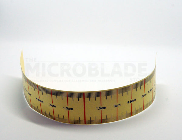 Eyebrow Measuring Ruler Stickers 10 per pack - The Microblade Store
