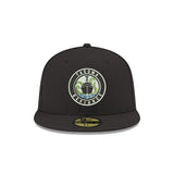 Black New Era 59Fifty Primary Fitted Cap