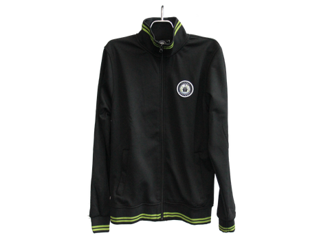 Black Defiance Full Zip Primary Jacket
