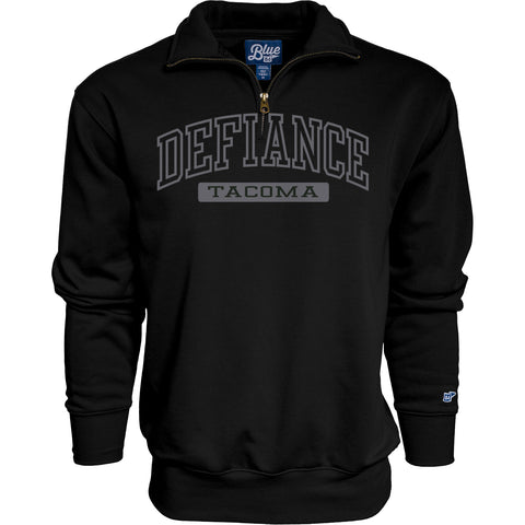 Black B84 Detroit 1/4 Zip