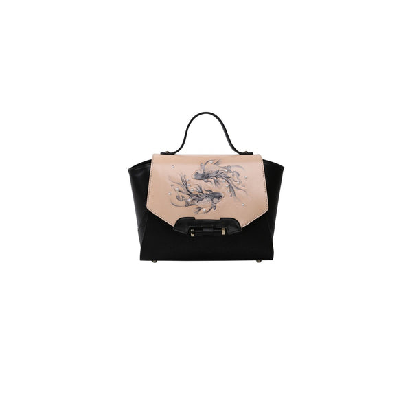 Fish Small Black Satchel