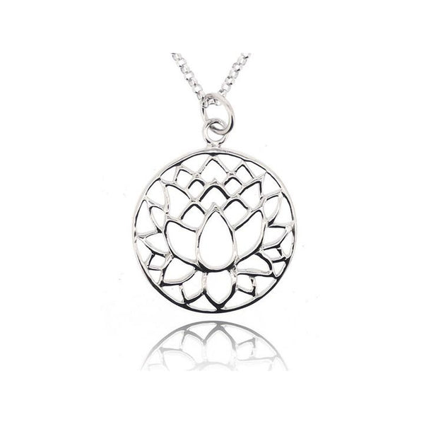 LOTUS PENDANT FOR NECKLACE