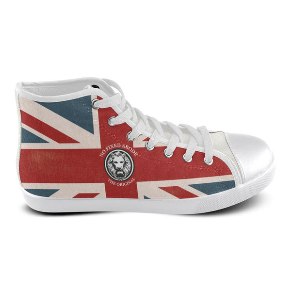 Mens NFA The Original Union Jack White Basketball High Tops