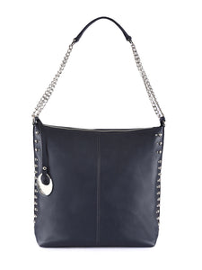 Leather Hobo Bag - PR853N
