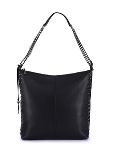Leather Hobo Bag - PR852N