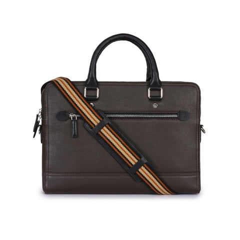 Leather Laptop Bag -PRM636