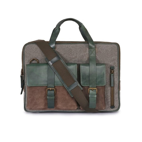 Leather Laptop Bag -PRM635