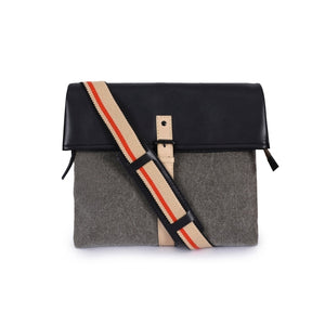 Leather Messenger Bag -PRM679