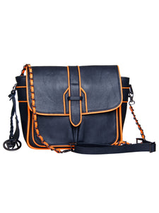 Leather Crossbody Bag - PR917