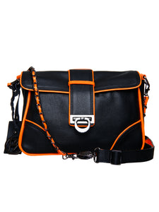 Women's Leather Crossbody Bag - PR918