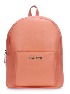 Leather Coral Backpack