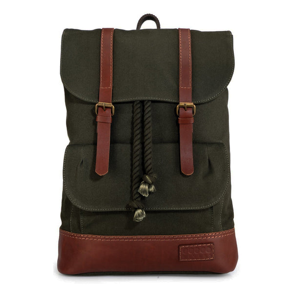 Phive Rivers Men's Leather Backpack - Pr1144
