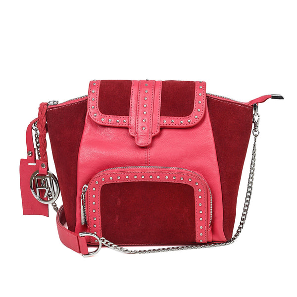 Women's Leather Crossbody Bag - PR1028