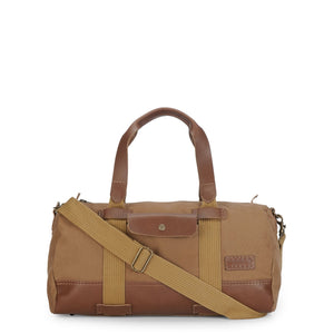 Phive Rivers Men's Leather Duffle/ Weekender - Pr1142