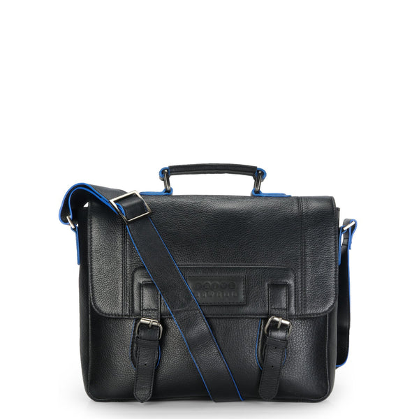 Phive Rivers Men's Leather Messenger Bag - Pr1127