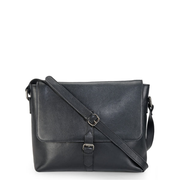 Leather Messenger Bag - PR1122