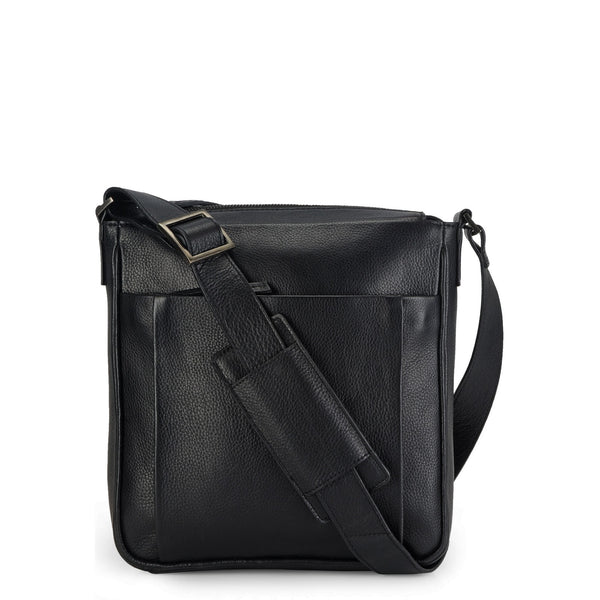 Leather Messenger Bag - PR1129