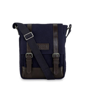 Leather Messenger Bag - PR1151