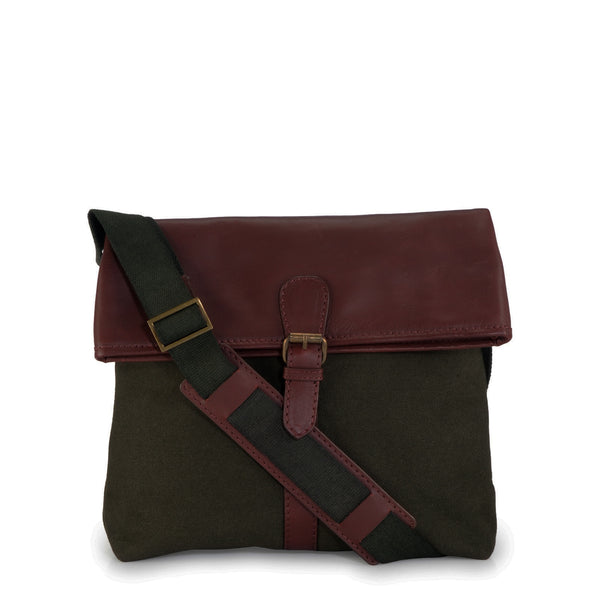 Leather Messenger Bag - PR1116