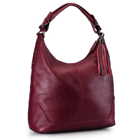 Leather Hobo Bag - PR844